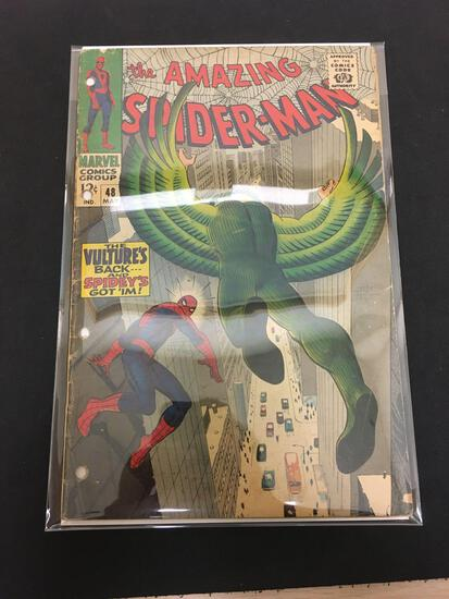 The Amazing Spider-Man #48 Comic Book from Estate Collection