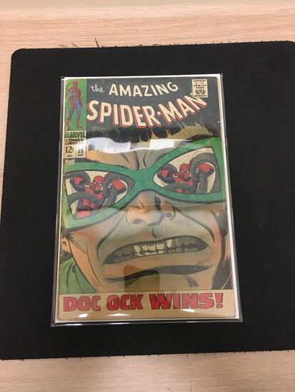 The Amazing Spider-Man #55 Comic Book from Estate Collection