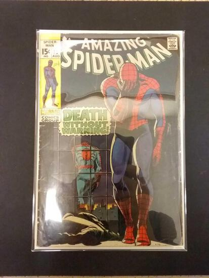 The Amazing Spider-Man #75 Comic Book from Estate Collection