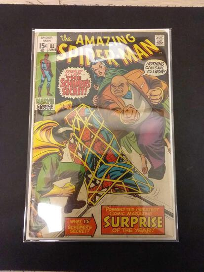 The Amazing Spider-Man #85 Comic Book from Estate Collection