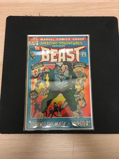 Amazing Adventures #14 Featuring Beast Comic Book from Estate Collection
