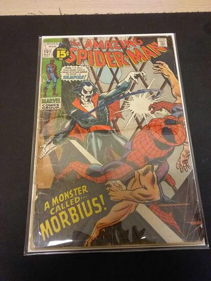 The Amazing Spider-Man #101 Comic Book from Estate Collection