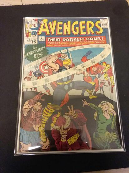 The Avengers #7 Comic Book from Estate Collection
