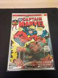 Captain Marvel #35 Comic Book from Estate Collection