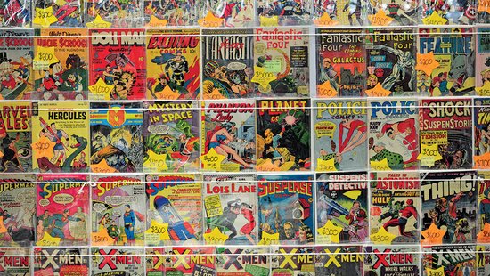 2/16 Amazing Comic Book Estate Collection - Part 2