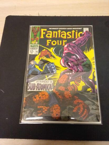The Fantastic Four #76 Comic Book from Estate Collection