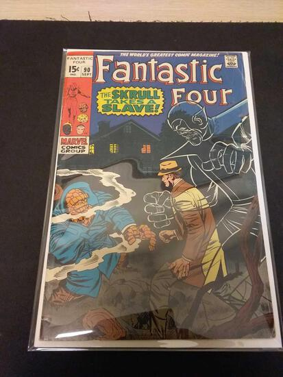 The Fantastic Four #90 Comic Book from Estate Collection