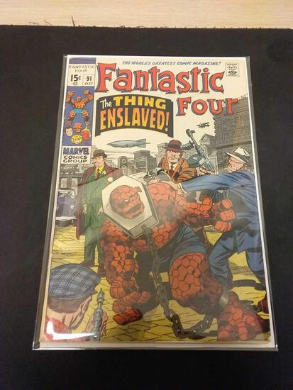 The Fantastic Four #91 Comic Book from Estate Collection