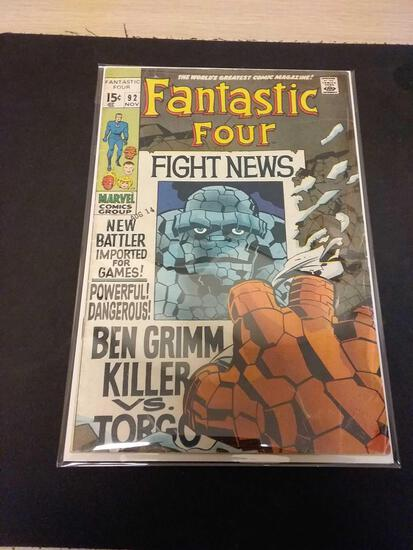 The Fantastic Four #92 Comic Book from Estate Collection