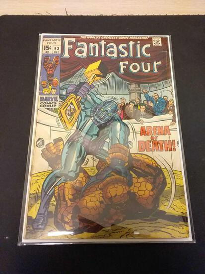 The Fantastic Four #93 Comic Book from Estate Collection