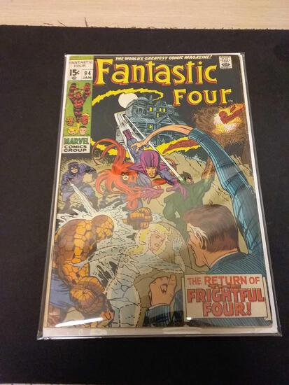 The Fantastic Four #94 Comic Book from Estate Collection