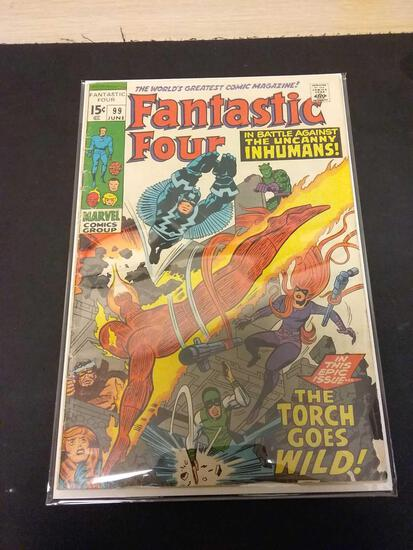The Fantastic Four #99 Comic Book from Estate Collection