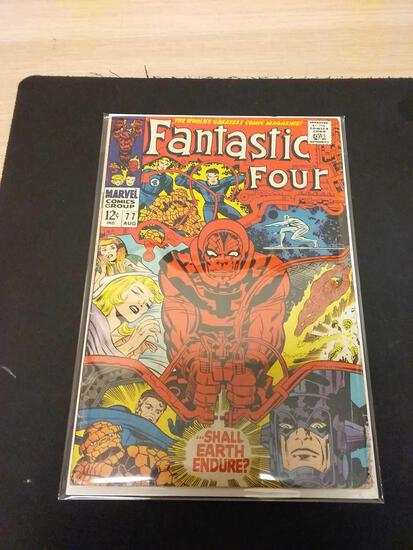 The Fantastic Four #77 Comic Book from Estate Collection