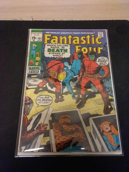 The Fantastic Four #101 Comic Book from Estate Collection