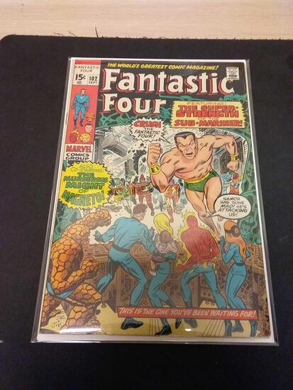 The Fantastic Four #102 Comic Book from Estate Collection