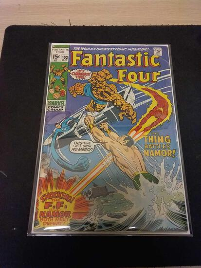 The Fantastic Four #103 Comic Book from Estate Collection