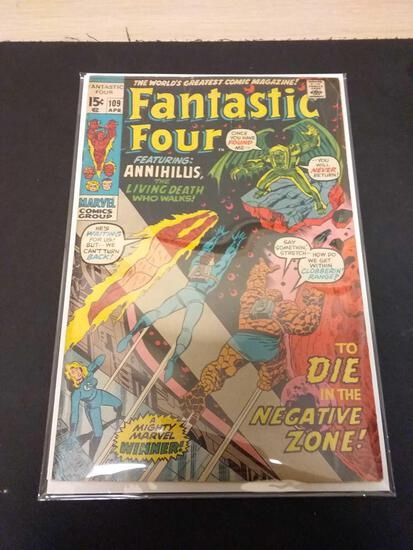 The Fantastic Four #109 Comic Book from Estate Collection