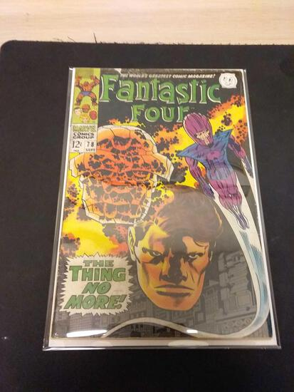 The Fantastic Four #78 Comic Book from Estate Collection