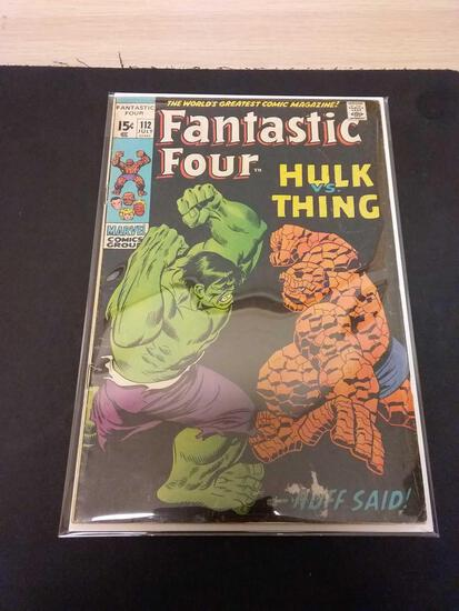 The Fantastic Four #112 Comic Book from Estate Collection