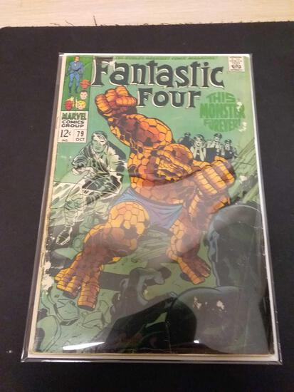 The Fantastic Four #79 Comic Book from Estate Collection
