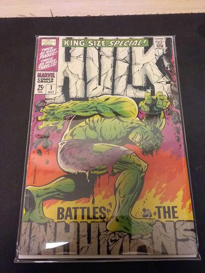 The Incredible Hulk King Size Special #1 Comic Book from Estate Collection