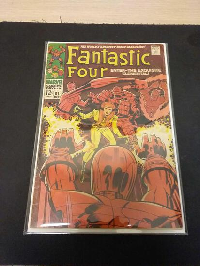 The Fantastic Four #81 Comic Book from Estate Collection