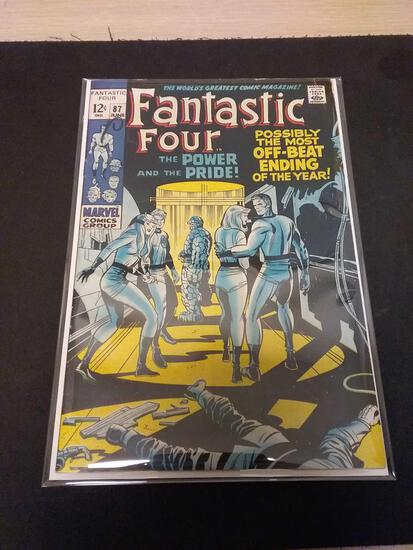 The Fantastic Four #87 Comic Book from Estate Collection
