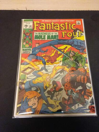 The Fantastic Four #89 Comic Book from Estate Collection