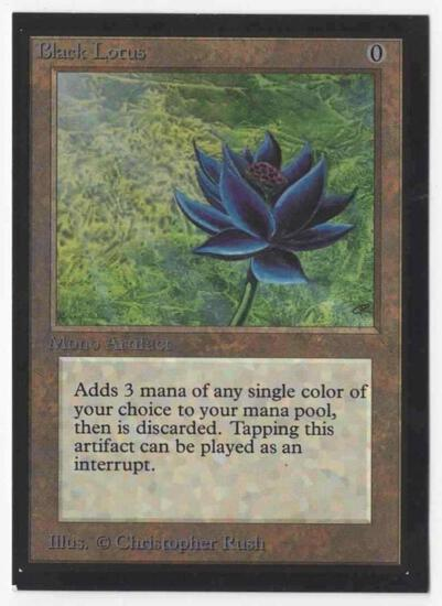 1993 Mtg Magic The Gathering Collector's Edition Black Lotus EX-NM Card