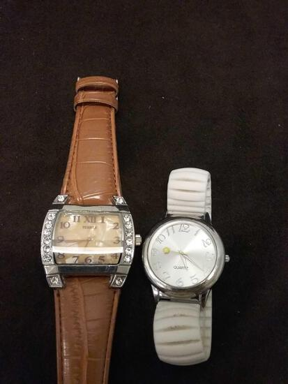 Lot of 2 Stylish Ladies Watches
