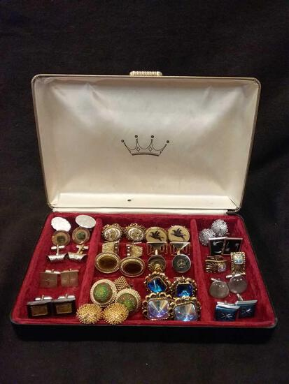 Incredible Collection of 20 Complete Pairs of Vintage Cufflinks RARE Cuff Links Estate