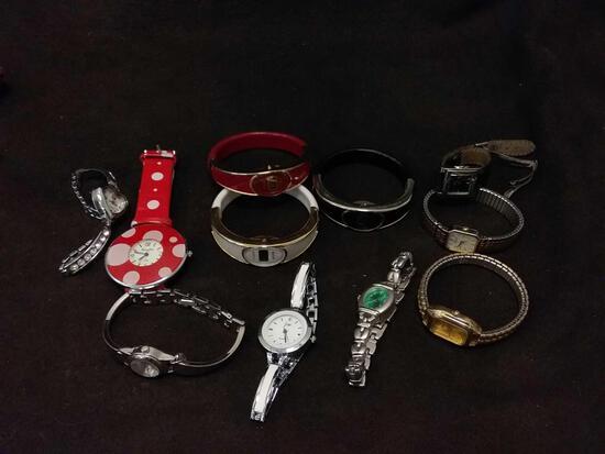As Found Ladies wrist Watch Lot