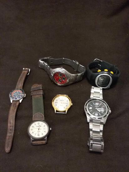 As Found Mens Wrist Watch Collection