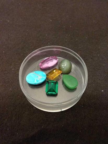 25 Carat Mixed Gemstone Mineral Lot