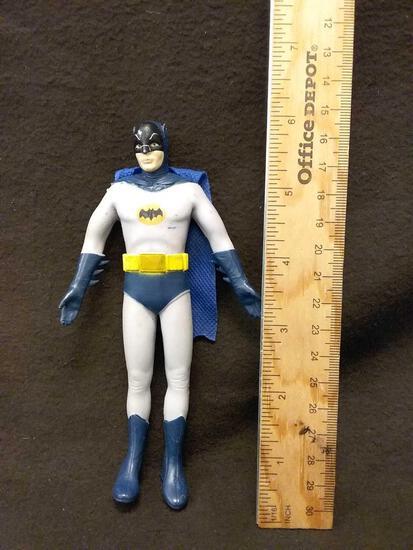 Vintage Rubber Batman Action Figure Toy