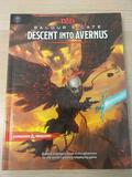 Dungeons and Dragons Baldur's Gate Descent Into Avernus Hardcover Book D&D