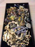 Lot of Unsearched Vintage Costume Jewelry from Estate