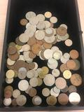 Huge Lot of Foreign World Coins - Unsearched - from Estate Collection