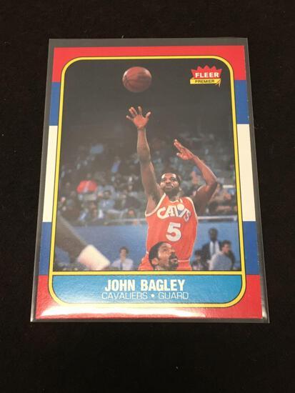 1986-87 Fleer #5 John Bagley Cavs Vintage Basketball Card