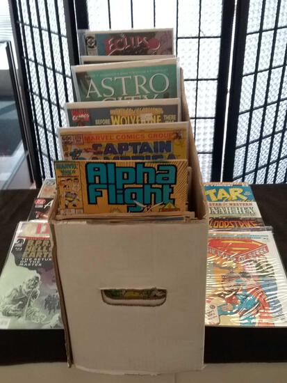 Full Long Box of Estate Comics