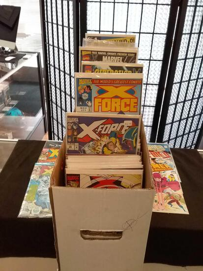 Loaded Long Box of Comics From Estate