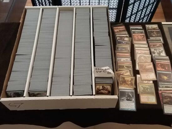 Estate 5 Row Box Full of Magic The Gathering MTG Trading Cards