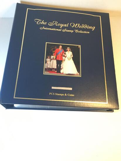 The Royal Wedding International Stamp Collection - Prince William & Kate Middleton - Amazing