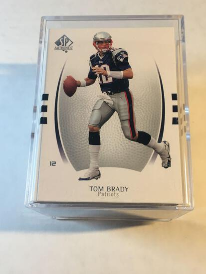 2007 SP Authentic Football Complete 100 Card Set from Estate Collection