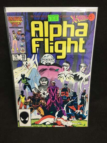 Alpha Flight #33 Comic Book from Amazing Collection B