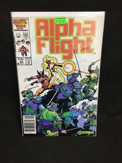 Alpha Flight #34 Comic Book from Amazing Collection