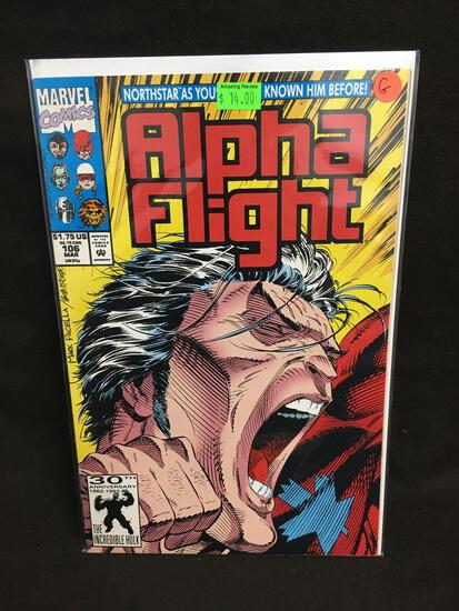 Alpha Flight #106 Comic Book from Amazing Collection G