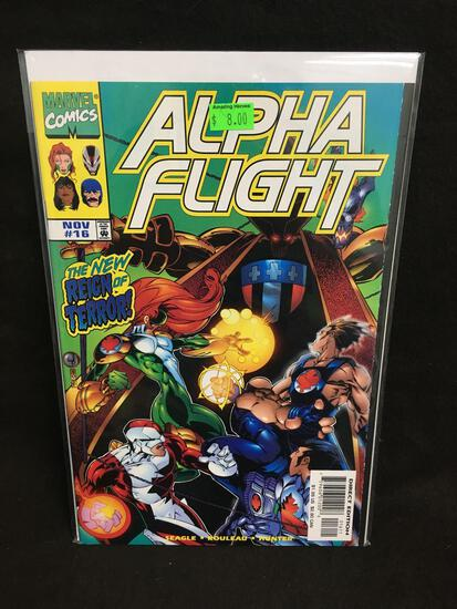 Alpha Flight #16 Comic Book from Amazing Collection