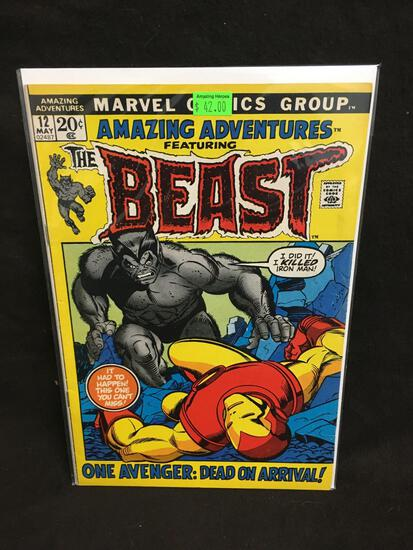 Amazing Adventures Featuring The Beast #12 Comic Book from Amazing Collection