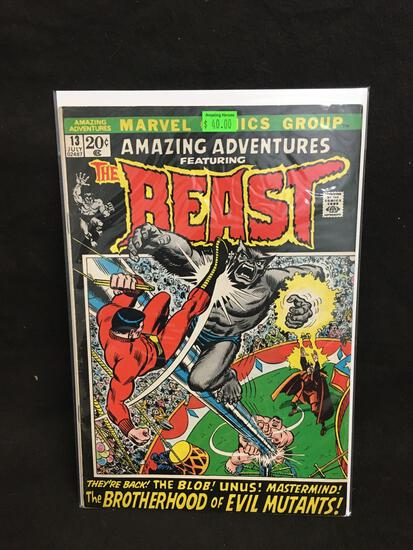 Amazing Adventures Featuring The Beast #13 Comic Book from Amazing Collection